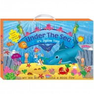 Art Factory My Big Box Of Puzzle And Book Fununder The Sea
