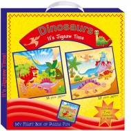 Art Factory My First Boxof Puzzle Fun Dinosaurs
