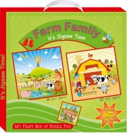 Art Factory My First Boxof Puzzle Fun Farm Family