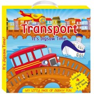 Art Factory My Little Pack Of Jigsaw Fun Transport
