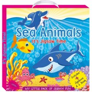 Art Factory My Little Pack Of Jigsaw Fun Sea Animal