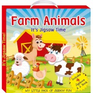Art Factory My Little Pack Of Jigsaw Fun Farm Animal