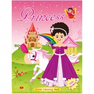 Art Factory Jumbo Colouring Book Princess