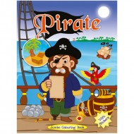 Art Factory Jumbo Colouring Book Pirate