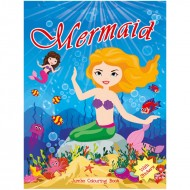 Art Factory Jumbo Colouring Book Mermaid