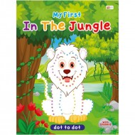 Art Factory Dot To Dot Activity Book With Stickers In The Jungle