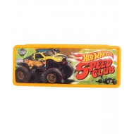 Hot Wheels Speed Club Pencil Box, Yellow