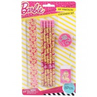 Barbie 8 pcs Stationery Set