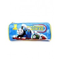 Thomas And Friends Round Pencil Pouch, Blue
