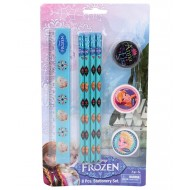 Disney Frozen 8 pcs Stationery Set, Blue