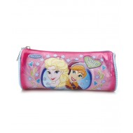 Disney Frozen Round Pencil Pouch, Pink