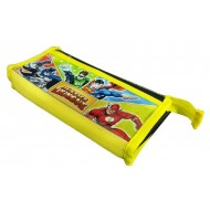 Justice League Pencil Pouch, Yellow