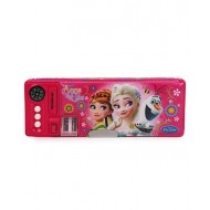 Disney Frozen Anna Elsa Pencil Box Pink