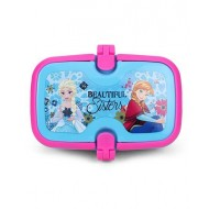 Disney Frozen Beautiful Sisters Lunch Box With Handle Pink