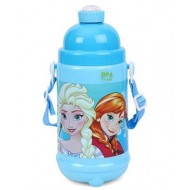 Disney Frozen Sisterly Love Water Bottle Blue 480 ml