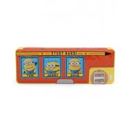 Minions Trio 1 Button Pencil Box