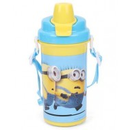 Minions Equals To Chaos Water Bottle Yellow 500 ml
