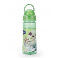 Disney Elsa 500 ml Water Bottle, Green