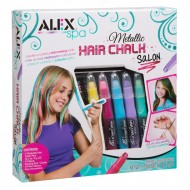 Alex Toys Spa Metallic Hair Chalk Salon