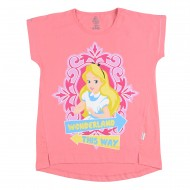 Alice In Wonderland Pink T-Shirt AW1EGT2024