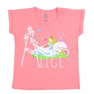 Alice In Wonderland Pink T-Shirt AW1EGT2191