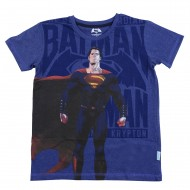 Dawn Of Justice  Blue T-Shirt DJ1EBT1232