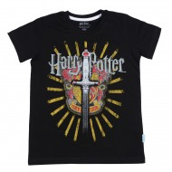 Harry Potter Black T-Shirt HP1EBT2051