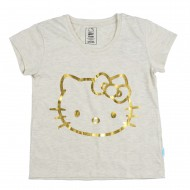 Hello Kitty Off White T-Shirt HT1EGT2331