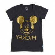 Mickey & Friends Black T-Shirt MF1EGT2314