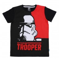 Star Wars Black Red T-Shirt SW1EBT207