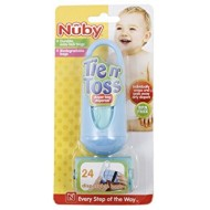Nuby Natural Touch Silicone Travel Infa Feeder
