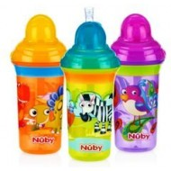 Nuby Flip it Click It No Spill Straw Sipper 270 ml