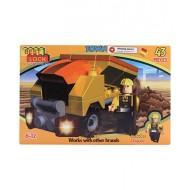 Best Lock Dump Truck Construction Block Set 43 Piece
