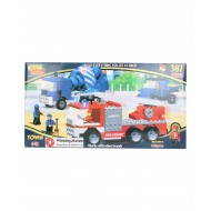 Best Lock Fire Engine Construction Block Set 387 Pieces
