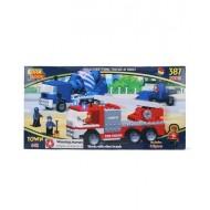 Best Lock Town Truck Block Set 387 Pieces