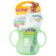 Nuby No Spill Twin Handle Cup 295ml