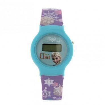 Disney Elsa Digital Watch Blue DW100473
