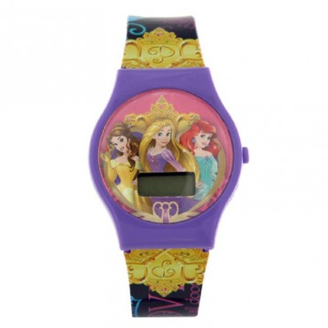 Disney Princess Digital Watch Purple DW100489