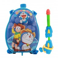 Holi Pichkari Back Pack Cartoon Tank Squirter F2 - Blue