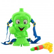 Dealbindaas Holi Pichkari Back Pack Tank Squirter 077 - Green