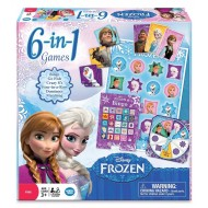 Disney Frozen 6-in-1 Game Collection