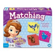 Disney Sofia the First Matching Game
