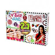 Apple Fun 2 In 1 Nail Art and Amazing Loom Bonanza Kit