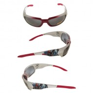 Disney Avengers Sunglasses,Silver Red