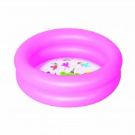 Bestway Splash & Play Two Ring Pool,Pink