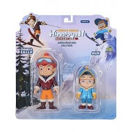 Chhota Bheem Himalayan Adventure Figure Toy Pack - Chhota Bheem and Raju