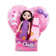 Chhota Bheem Chutki Purple Doll With Accessories