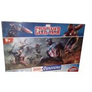 Frank Marvel Civil War Captain America 300 Panorama