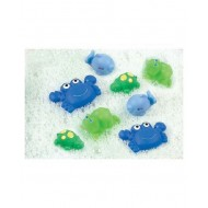 Playgro Bath Time Squirtees Pack of 8 Blue & Green