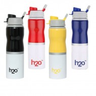H2O Stainless Steel Water Bottle 750ml SB142